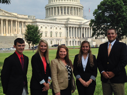 2013 Farm Credit Scholars in Washington D.C.