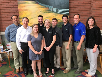 2018 Farm Credit Scholar Interns
