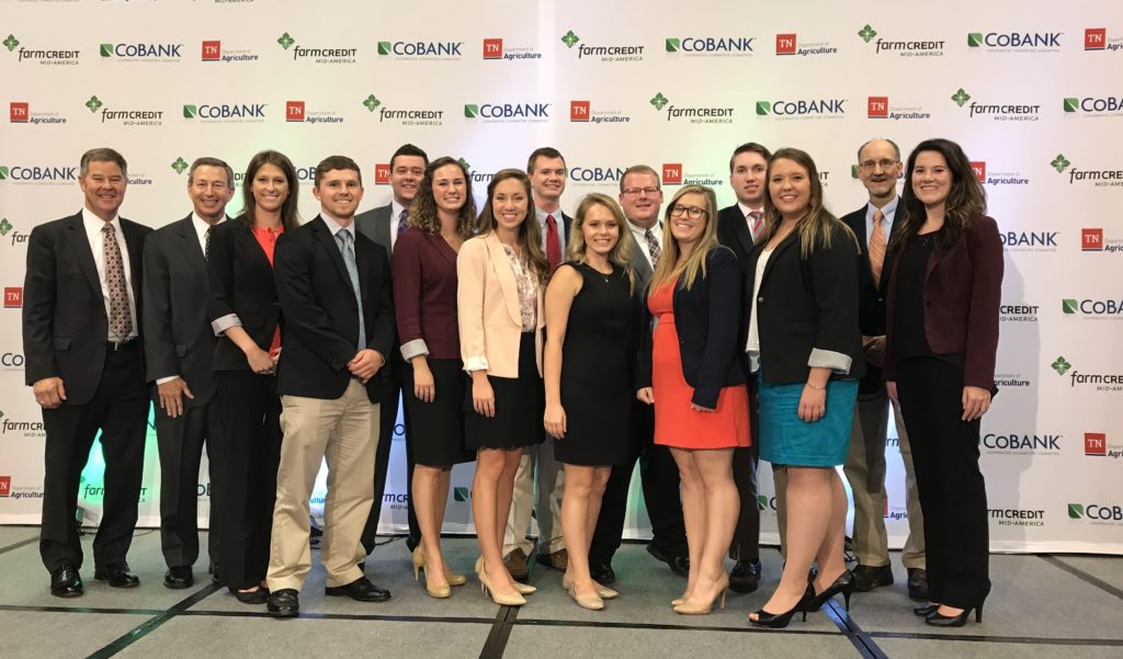 Farm Credit Scholars at the 2017 Tennessee Agriculture Leadership Forum