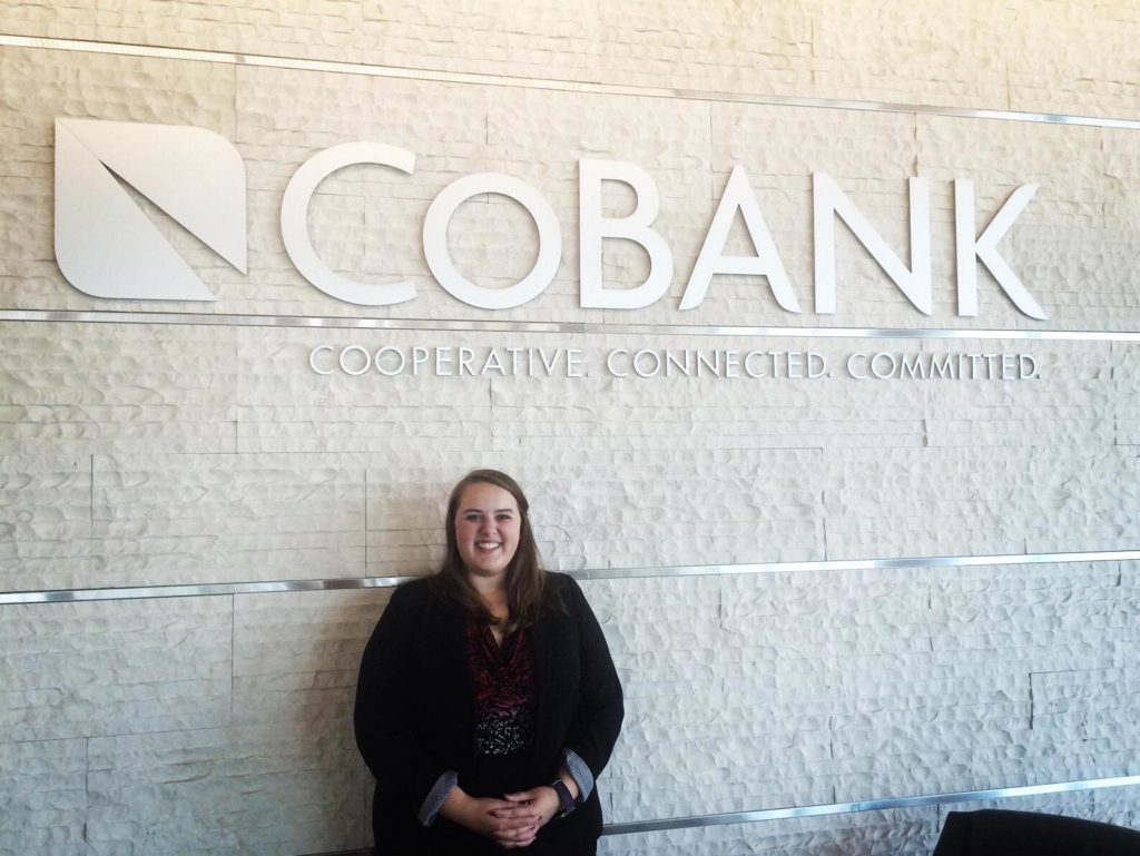 Taylre Beaty at CoBank in Washington, D.C.