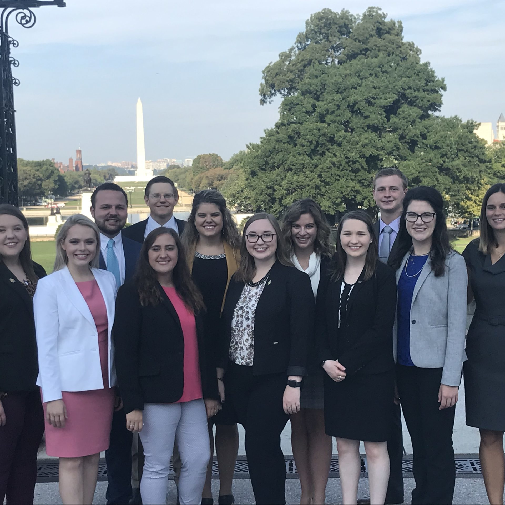 2019 Farm Credit Scholars in Washington, DC