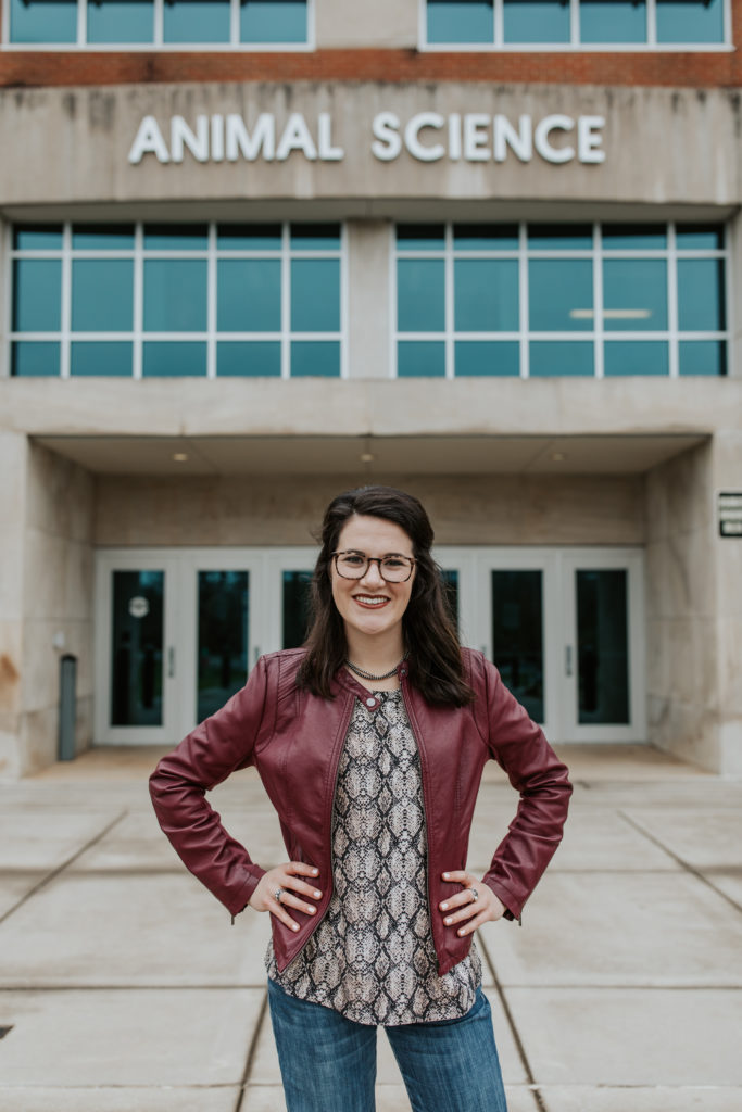 Headshot of Pollock, Abigayle Brooke. Captured at UTK on Mar 23 2020 by Carly Crawford Photography.