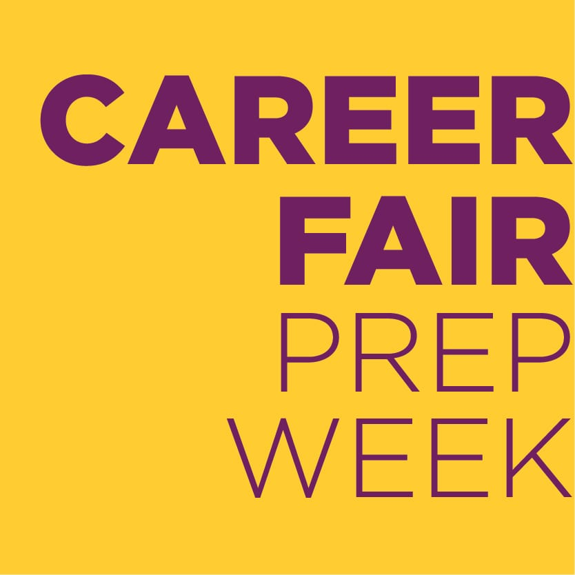 Career Fair Prep WeeK