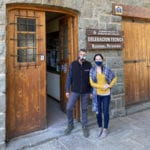 Sara Mulville, UT Smith Center for Sustainable International Agriculture, and Ricardo Videla, UT College of Veterinary Medicine, at the National Parks Administration in Northern Patagonia, Argentina.